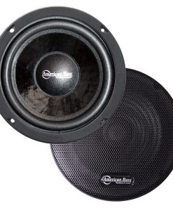 "American Bass 6.5"" (Sold each) closed back midrange speaker with grill"
