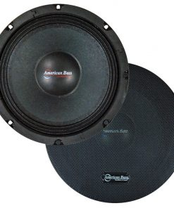 "American Bass 8"" Midrange Speaker(Sold each) Grill 350W Max"