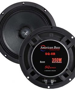 """American Bass 8"""" Midrange open back speaker with grills (Sold each)"""