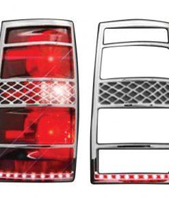 Street Vision 07-13 Suburban/ Tahoe LED Tail Light Bezel *PAIR*
