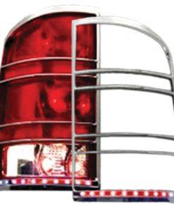 Street Vision 07-13 GMC Sierra Chrome LED Tail Light Bezel
