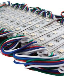 Street Vision 15ft 30-Module LED Pod Strip Light Kit (RGB Multi-Color) with 5050 LED technology