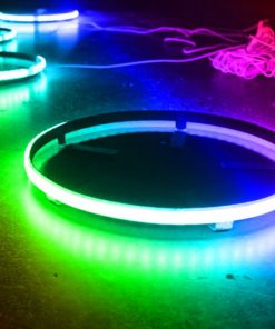 Street Vision StreetADAPT 14in LED Wheel Kit (RGB Multi-Color)
