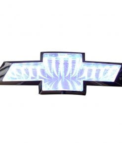 Street Vision Chevy 3D Logo Badge—White