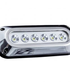 Street Vision 6-LED 6X3W Surface Mount Marine Light Red