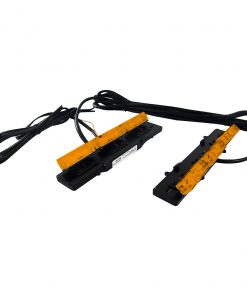 Street Vision SLIM Design Amber LED Grill Clip Lighting System (PAIR)
