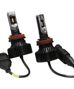 Street Vision Fan Less LED Headlights H/L Shallow mount Design