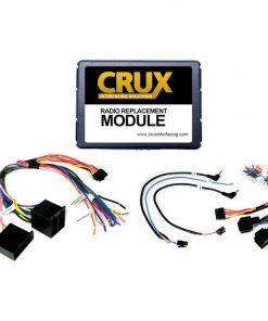 CRUX Radio Replacement w/SWC Retention for Saab Vehicles