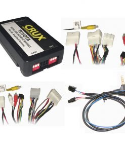 CRUX Radio Replacemnt w/SWC & JBL Amp Retention for Toyota/Lexus 2003-2016
