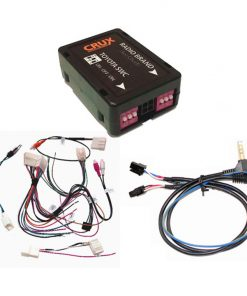 CRUX Radio Replacement w/SWC & OE RVC Retention for Toyota Vehicles 2012-UP