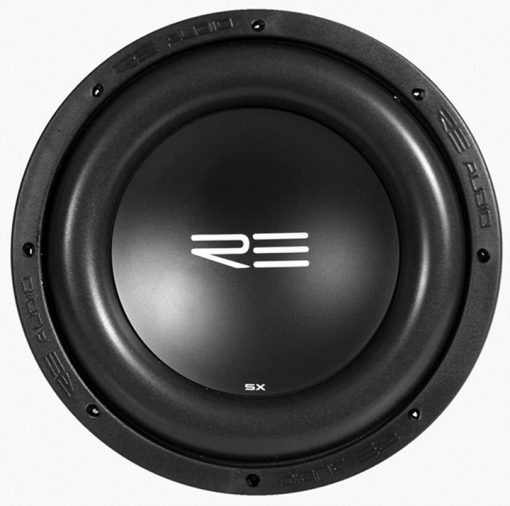 "RE Audio 10"" SXX Series Woofer Dual 2Ohm 1200W"