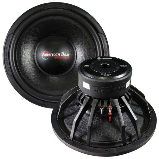 """American Bass 15"""" Woofer (TNT15) 1600 watts max 4 Ohm DVC"""
