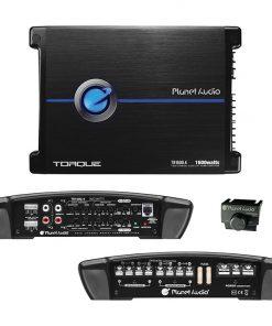 Planet 4 Channel Power Amplifier 400 Watts x 4 Max Power