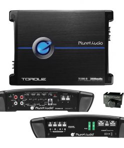 Planet 3000 Watts Max Power Class D Monoblock Power Amplifier 1-OHM Stable