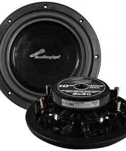 """Audiopipe 10"""" Shallow Mount Woofer 400W Max 4 Ohm DVC"""