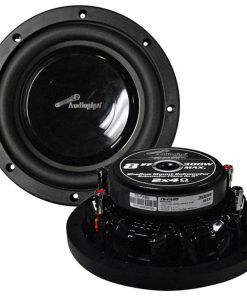 """Audiopipe 8"""" Shallow Mount Woofer 300W Max 4 Ohm DVC"""