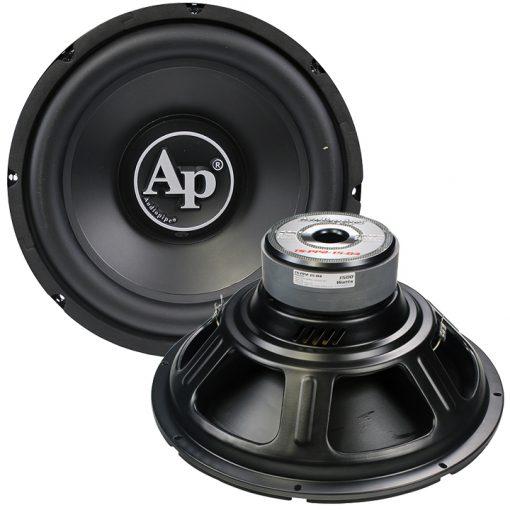 "Audiopipe 15"" Woofer Dual 4 Ohm 1500W Max"