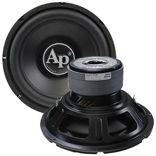 "Audiopipe 12"" Woofer 1600W Max Dual 4 Ohm"