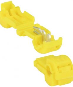 T TAP CONNECTORS XSCORPION 12/10GA. 50PCS; YELLOW