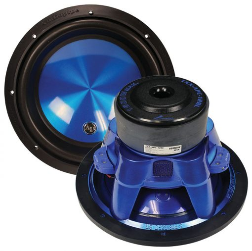 "Audiopipe 12"" Woofer 1600W Max 4 Ohm DVC"
