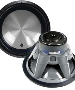 "Audiopipe 15"" Woofer 2000W Max 4 Ohm DVC Flat Gray"