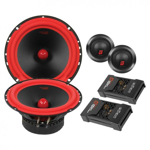 "Cerwin Vega Mobile Series 6.5"" 2-Way Component Speaker 400W Max"
