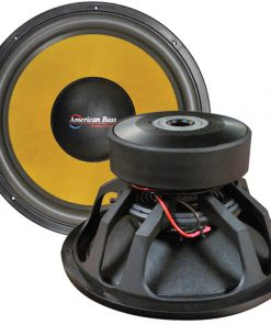 "American Bass 12"" Dual 1ohm VC Competition Sub 4000W Max"