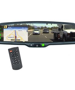 Boyo 4.3 Inch Replacement Mirror Monitor with 4 video inputs