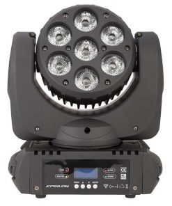 Epsilon 7-15 Watt RGBAW Wash Moving Head 105 Watts