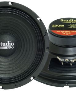 "WOOFER 8"" PYRAMID 200WATTS 8 OHM; STUDIO PRO SERIES"