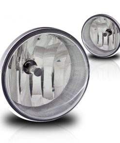 Winjet 05-11 Toyota Tacoma Fog Lights - (Clear) - (Wiring Kit Included)