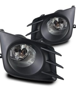 Winjet 11-13 Scion TC Fog Lights - (Clear) - (Wiring Kit Included)