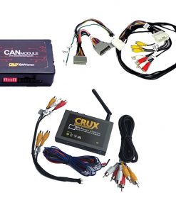 Crux Wi-Fi Audio/ Video Interface for Select Dodge & Jeep Vehicles 2013-15