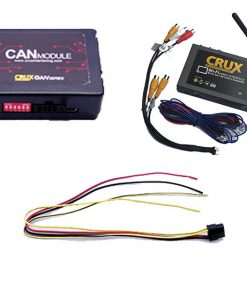 Crux Wi-Fi Audio/ Video Interface for Select Cadillac Chevrolet & GM Vehicles 2013-Up