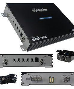 American Bass Monoblock Amplifier 1800W Max