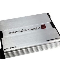 Cerwin Vega XED Mobile 2-Ch 85WX2 at 2ohm 60WX2 at 4ohm / 600W MAX