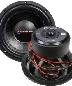 "American Bass 12"" Woofer 2000W Max 2 Ohm DVC"