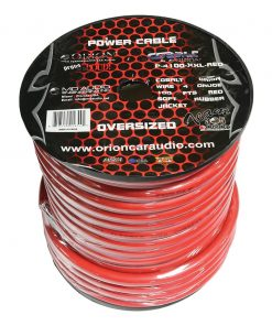 Orion XTR 100% Copper Wire 4 Gauge 100 ft Red