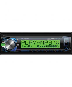 Dual AM/FM Mechless MP3/WMA Bluetooth USB/SD/3.5mm inputs