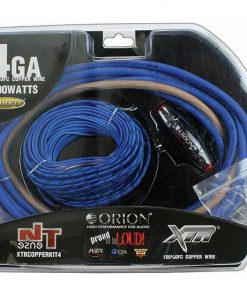 Orion XTR 4 Gauge Amp Kit 100% Copper