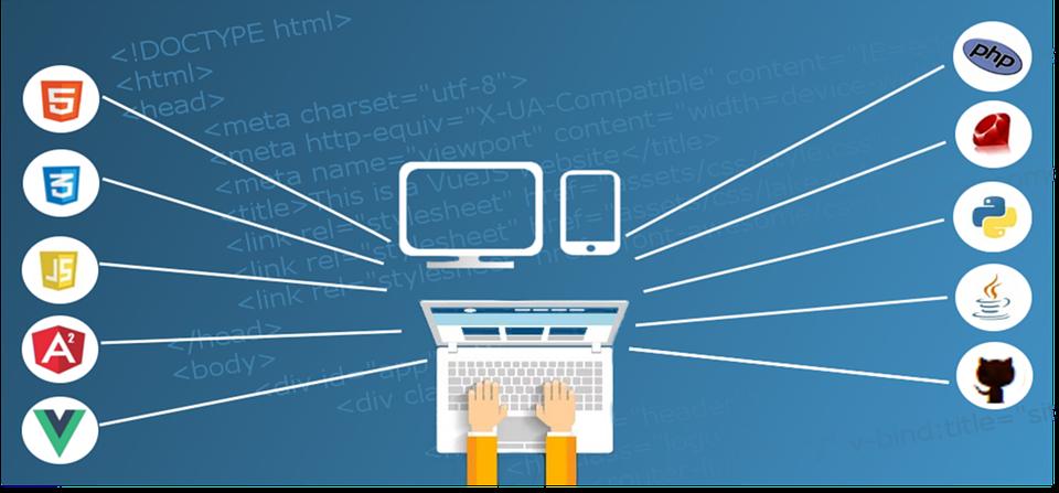 we build web sites web development services