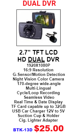 Dual DVR mobile use wholesale distributor LA USA